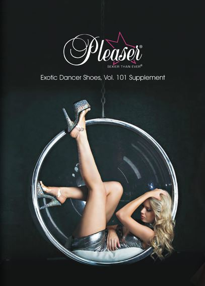 Over 107 High Gloss Pages of Pleaser Platform Mules, Sandals and Boots for Exotic Dancers